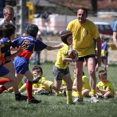 13/04/13 : Tournoi école de rugby à Pouyastruc