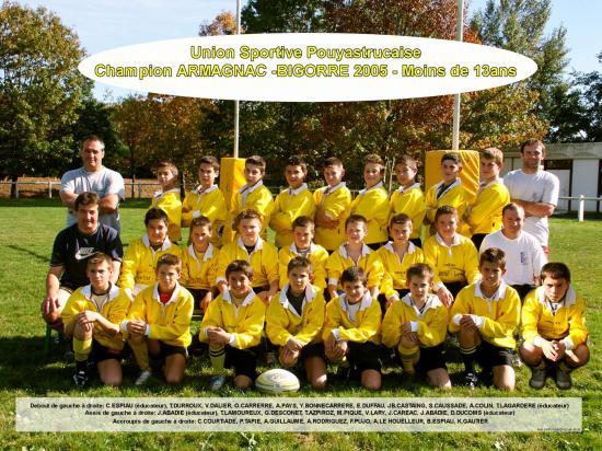 13ans champion 2005