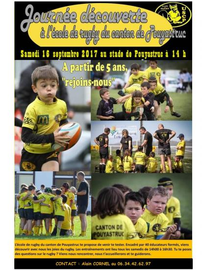 Affiche journee decouverte 2017
