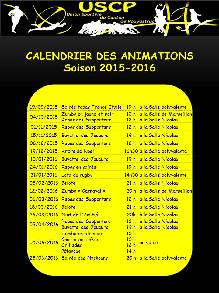 Calendrier des animations 2015 19