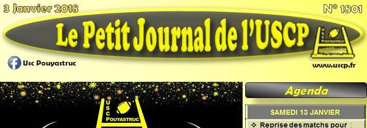 PETIT JOURNAL du 03/01/2018