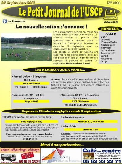 Petit journal uscp n 1814 2018 09 06